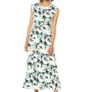 * Chaus Maxi knot Dress Fanciful Tropical Marine